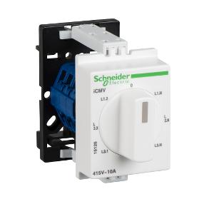 Commutateur d'ampèremètre 4 positions - modulaire - 10 A - PowerLogic SCHNEIDER