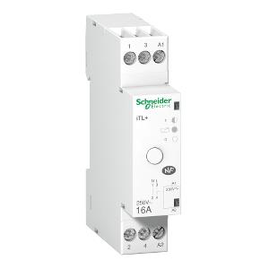 Télérupteur silencieux 1P 16A 230VCA, livré avec 1 intercalaire - Prodis, TL+ SCHNEIDER