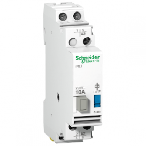 Acti9, iRLI relais inverseur 10A 2P tension de commande 230-240VCA, 1F + 1O/F SCHNEIDER