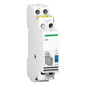 Acti9, iERL extension pour relais inverseur iRLI 230-240VCA 10A 1F + 1O/F SCHNEIDER