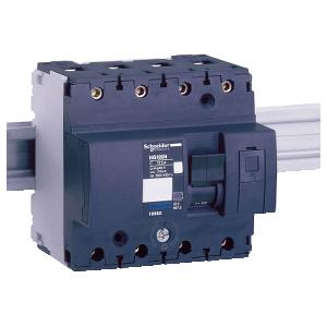 Multi9 NG125L - disjoncteur modulaire - 4P - 25A - courbe D SCHNEIDER