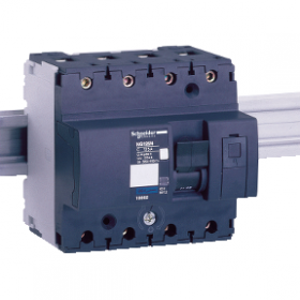 Multi9 NG125L - disjoncteur modulaire - 4P - 80A - courbe D SCHNEIDER