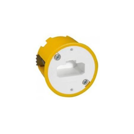 Boîte luminaire Batibox - cloison sèche - pour applique à bornes auto - prof 40 mm LEGRAND