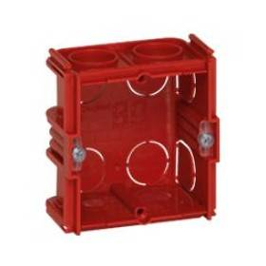 Boîte monoposte Batibox - maçonnerie - carrée associable - prof. 40 LEGRAND