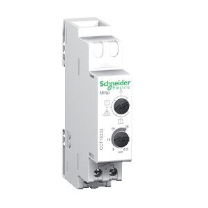 Minuterie 30s à 20mn/1h - fonction télérupteur- contact 16A/230Vca - Acti9 MINp SCHNEIDER