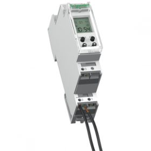 Interrupteur horaire programmable 2 canal smart CCT15553 SCHNEIDER