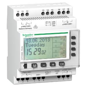 Multi9, ITA interrupteur horaire annuel 24h/7jours/année - 4 canaux SCHNEIDER