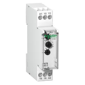 Acti9, RTMF, relais temporisé multifonction 1OF 12...240VCA/CC SCHNEIDER