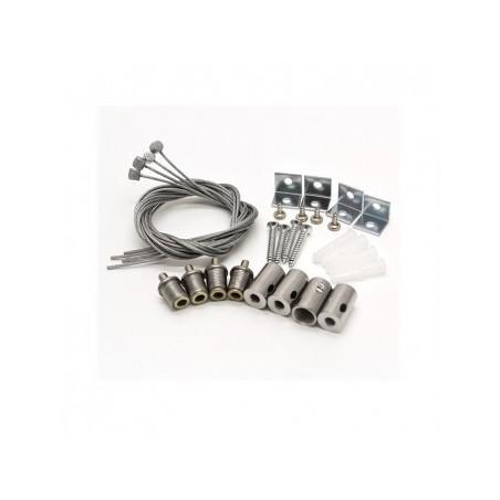 Kit de suspension pour plafonniers 300X1200 VISION EL