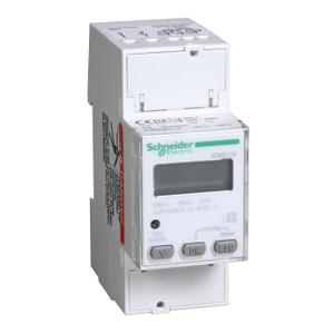 Compteur d'énergie mono - 63A - afficheur impulsionnel MID - Acti9 iEM SCHNEIDER