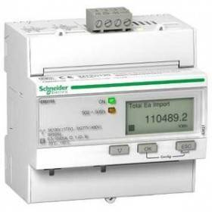 Compteur d'énergie triphasé 63A - multitarif - alarme kW - Modbus - MID - Acti9 iEM SCHNEIDER