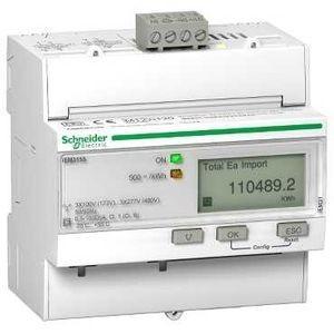 Compteur d'énergie triphasé 63A - multi tarif - LON - MID - Acti9 iEM SCHNEIDER
