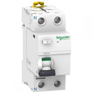 Interrupteur différentiel 2P 80A 100mA type AC - Acti9, iID SCHNEIDER