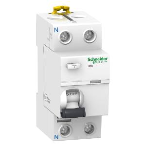 Interrupteur différentiel PdC 4,5kA 2P 25A type AC 30mA - Acti9 iID K SCHNEIDER