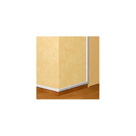 Moulure DLPlus 20x12,5mm - 2 compartiments - longueur 2,1m - blanc LEGRAND