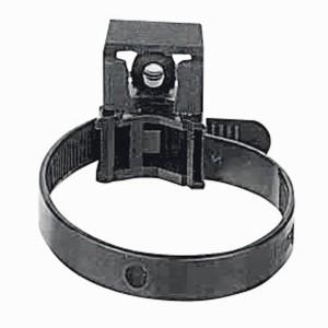 Collier à embase noir - pour câble Ø13 à Ø38mm ou tube IRL Ø16mm à Ø32mm - Denture int. - Protégé UV - Lot de 100 LEGRAND