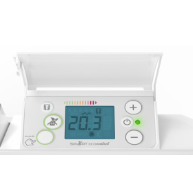 NOIROT BELLAGIO Smart EcoControl blanc 750W - Bas NOIROT