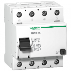 Multi9 ID - interrupteur différentiel - 4P - 125A - classe B - 300mA SCHNEIDER