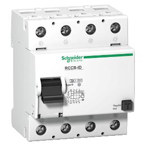 Multi9 ID - interrupteur différentiel - 4P - 125A - classe B - 500mA SCHNEIDER