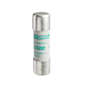 Cartouche fusible NFC 14x51mm cylindrique - aM 32A - sans voyant - TeSys DF SCHNEIDER