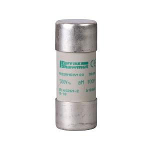 Cartouche fusible NFC 22x58mm cylindrique - aM 80A - sans voyant - TeSys DF SCHNEIDER