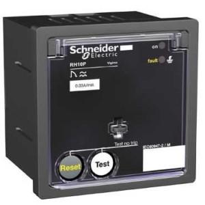 Relais différentiel 12-24VAC/12-48VCC sensibilité 0,3A - instantané - Vigirex RH10P SCHNEIDER