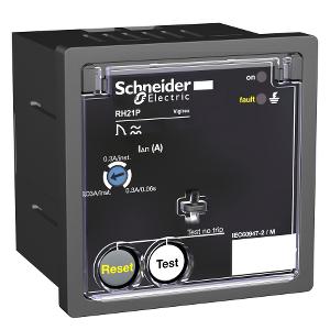 Relais différentiel 380-415VCA sensibilité 0,03A/0,3A instantané - Vigirex RH21P SCHNEIDER