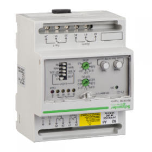 Relais différentiel sensibilité 0,03-30A - 0-4,5s - 48Vca 24-130Vcc - Vigirex RH197M SCHNEIDER