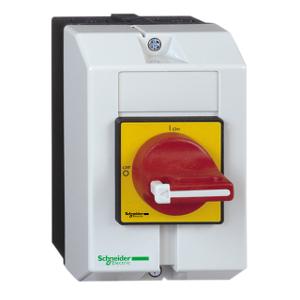 Interrupteur-sectionneur en coffret 10A 3P - TeSys Vario VCF SCHNEIDER