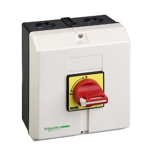 Interrupteur-sectionneur en coffret 50A 3P - TeSys Vario VCF SCHNEIDER