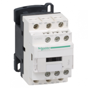 Contacteur - 5F+0O - instantané - 10A - 24Vcc - TeSys CAD50BL SCHNEIDER