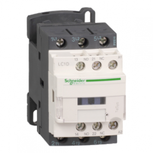 Contacteur - 3P - AC-3 440V - 9A - bobine 24Vca - TeSys LC1D09B7 SCHNEIDER