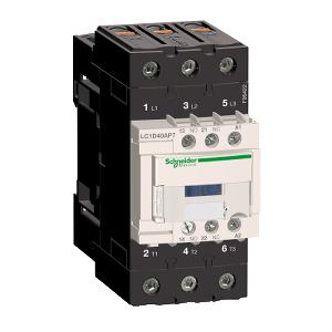 Contacteur - 3P 40A 440V AC3 - EverLink - bobine 230Vca 50/60HZ - TeSys LC1D40AP7 SCHNEIDER