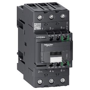 Contacteur - 3P(3NO) - AC3 - 440V 50A - 24Vcc - Everlink - TeSys LC1D50ABBE SCHNEIDER