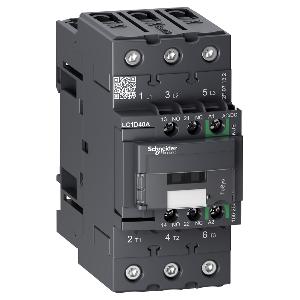 Contacteur 3P (3NO) - AC3 - 440V 65A - 24Vcc - Everlink - TeSys LC1D65ABBE SCHNEIDER