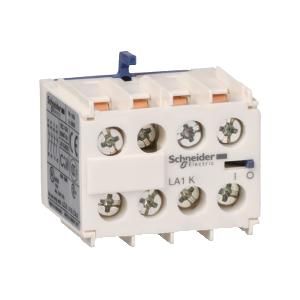 Bloc de contacts auxiliaires - 4F+0O - bornes à vis-étriers - TeSys LA1KN40 SCHNEIDER
