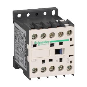 Contacteur - 3P - AC-3 440V - 6A - bobine 24Vca - TeSys LC1K0610B7 SCHNEIDER