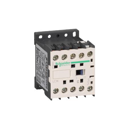 Contacteur - 3P - AC-3 440V - 9A - bobine 230Vca - TeSys LC1K0901P7 SCHNEIDER