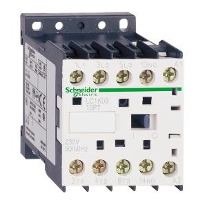 Contacteur - 3P - AC-3 440V - 9A - bobine 24Vcc - TeSys LP1K0901BD SCHNEIDER