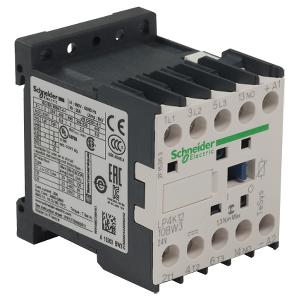 TeSys LP4K - Contacteur - 3P - AC-3 440V - 12A - bobine 24Vcc SCHNEIDER