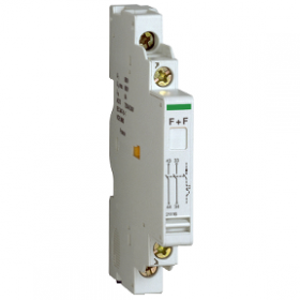 P25M - Contact auxiliaire - 1O+1F - 415V - 2.2 SCHNEIDER