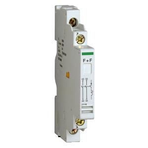 Contact auxiliaire 1F+1SD O - 415V - 2.2 A - P25M SCHNEIDER