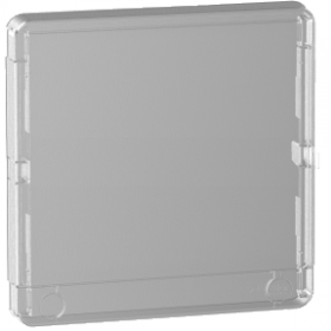 Porte Styl transparente pour coffret Resi9 1 rangée de 13 modules SCHNEIDER