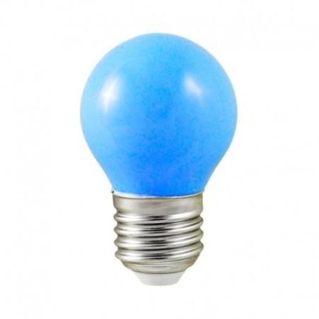 Ampoule LED E27 bulb G45 1W bleu VISION EL