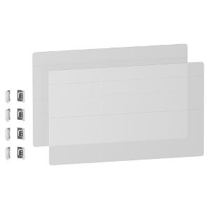 Kit You - Personnalisation de porte Styl transparent - Resi9 SCHNEIDER