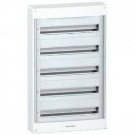 Pragma - Coffret en saillie 5R - 24 modules - 160A - sans porte - blanc SCHNEIDER
