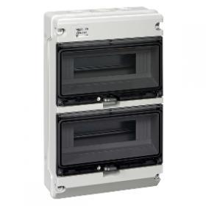 Coffret étanche KAEDRA XT 2 rangées 12 modules IP65 SCHNEIDER