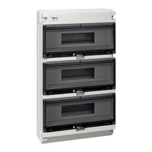 Coffret étanche KAEDRA XT 3 rangées 16 modules IP65 SCHNEIDER