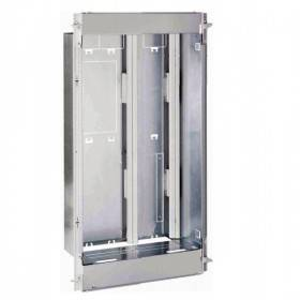 Bac métal 1 travée DRIVIA 18 - coffret 3 rangées + panneau contrôle Enedis + coffret de communication basique LEGRAND