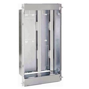 Bac métal 1 travée DRIVIA 18 - coffret 4 rangées + panneau contrôle Enedis + coffret de communication basique LEGRAND